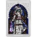 Legendární archanděl Rafael na atraktivní stříbrné minci