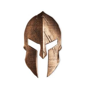 Legendární spartská helma vyražena na počest věhlasné bitvy u Thermopyl - exkluzivní stříbrný mincovní skvost