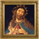 Umělecké dílo Kristus s trnovou korunou od věhlasného Sandra Boticelliho na atraktivní stříbrné minci