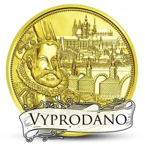 Významný český panovník Rudolf II. a Svatováclavská koruna