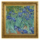 Umělecké dílo Kosatce od věhlasného Vincenta van Gogha na atraktivní stříbrné minci