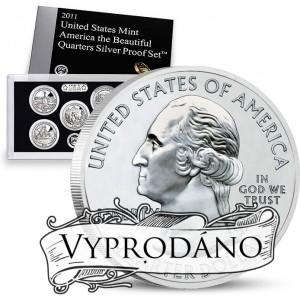Beautiful Quarters 5-coin Set