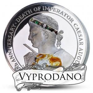 2000. výročí smrti věhlasného Caesara Augusta - vysoce exkluzivní skvost s drahými kameny