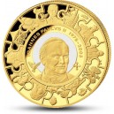 Kanonizace Jana Pavla II. - světově významná událost vyobrazena na atraktivní zlaté minci