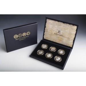 Numizmatické mexické dědictví - repliky vzácných historických mincí