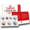 Výroční sada kanadských neoběhových mincí ražených v nejvyšší mincovní kvalitě