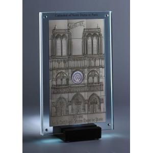 Legendární katedrála Notre Dame v Paříži - mistrovský mincovní skvost