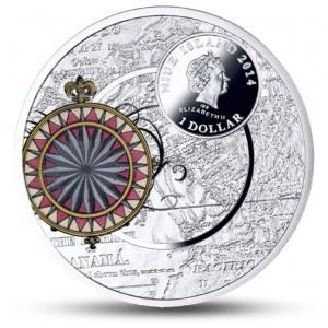 100 .výročí panamského průplavu na atraktivní minci