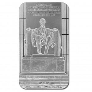 100. výročí památníku Abrahama Lincolna - prvního republikánského prezidenta USA