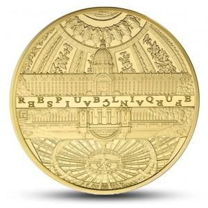 Věhlasné stavby Paříže na exkluzivní 5oz zlaté minci