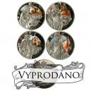 Tři mušketýři Alexandra Dumase - atraktivní stříbrna sada mincí