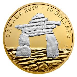 Inukshuk - pradávný symbol Eskymáku v severní Kanadě