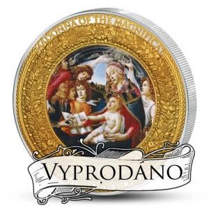 Madonna del Magnificat - mistrovské dílo od Sandra Botticeliho