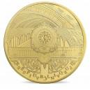 Věhlasný Malý palác (Petit Palais) v Paříži na atraktivní zlaté minci