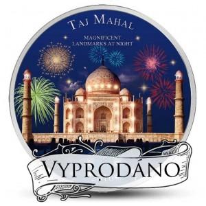 Tádž Mahal s ultrafialovým osvětlením - mincovní unikát
