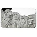 Mount Rushmore - národní památník USA na atraktivní stříbrné minci