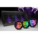 Lev, Tygr a Leopard - speciální černá oxidace s UV-LED osvětlením