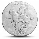 Johanka z Arku - významná francouská hrdinka a symbol stoleté války
