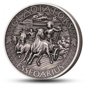 Věhlasní římští gladiátoři - Essedarius
