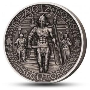 Věhlasní římští gladiátoři - Secutor