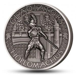 Věhlasní římští gladiátoří - Hoplomachos
