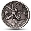 Věhlasní římští gladiátoři - Thrák