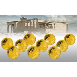 Nejslavnější bohové Olympského panteonu podle řecké mytologie