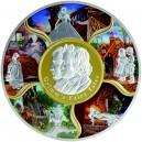 Nejznámější pohádky bratří Grimmů na exkluzivní a limitované stříbrné minci