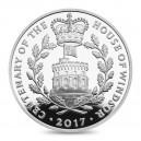 100. výročí věhlasného rodu Windsorů na atraktivní stříbrné minci (Piedfort)