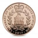 100. výročí věhlasného rodu Windsorů na atraktivní zlaté minci
