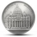 Bazilika svatého Petra - každá mince unikátní díky ručnímu dohotovení (Mauqoy)