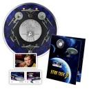 50. výročí věhlasného seriálu Star Trek -součástí známky s tématikou Star Trek