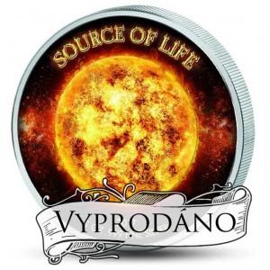 Slunce symbol a zdroj života - zušlechtění ryzím zlatem a speciální aplikace chromatických barev