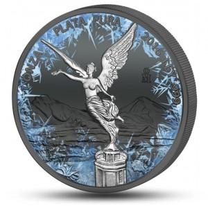 """Věhlasná libertad zušlechtěná černým rutheniem a platinou - speciální edice """"Deep frozen"""""""