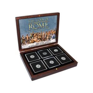 Věhlasní římští bohové na atraktivních historických mincích