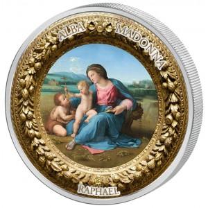 Madonna Alba - mistrovské dílo od věhlasného italského umělce Raffaela Santiho