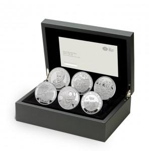 Věhlasné ikony první světové války na atrakativních stříbrných mincích
