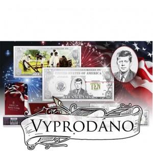 Americké stříbrné plakety s vyobrazením nejvýznamnějších prezidentů USA (3D efekt)
