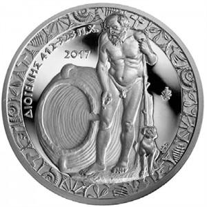 Poklady řeckého umění a kultůry - věhlasný filozof Diogenes