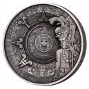 Májské dědictví na unikátní detailně zpracované minci s hlubokým reliéfem a oslňujícím 3D efektem