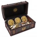 Piráti z Barbadosu na atraktivních mincích zušlechtěných ryzím zlatem