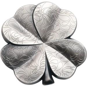 Mincovní skvost ve tvaru čtyřlístku - originální dárek pro naše blízké
