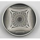 Bazilika Sacré-Cœur v Paříži - fascinující numizmat s hlubokým reliéfem