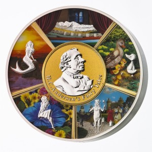 Hans Christian Andersen a jeho nejznámější pohádky na exkluzivní a limitované stříbrné minci