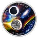 150. výročí Královské astronomické společnosti s úlomkem meteoritu