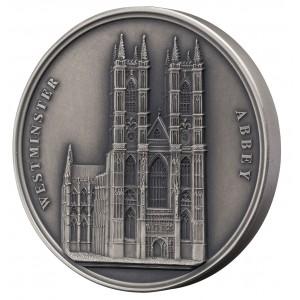 Westminsterské opatství - každá mince unikátní díky ručnímu dohotovení (Mauqoy)