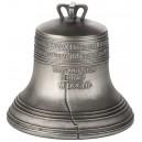 Zvon svobody - symbol deklarace nezávislosti USA na Velké Británii - exkluzivní stříbrný mincovní skvost