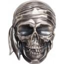 Pirátská lebka s šátkem - 300. výročí úmrtí nejvěhlasnějšího piráta Karibiku Černovouse - limitovaný mincovní skvost