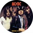 Legendární rocková skupina AC/DC - High way to Hell na atraktivní kolorované minci