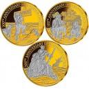 300. výročí Robinsona Crusoa na atraktivních mincích zušlechtěných ryzím zlatem